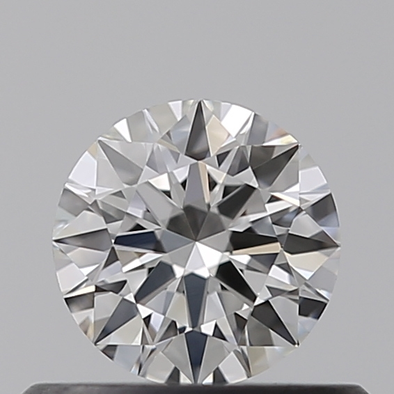 0.37 Carat Round Loose Diamond, F, IF, Super Ideal, GIA Certified