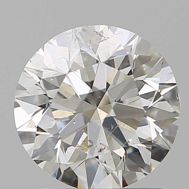 1.20 Carat Round Loose Diamond, I, SI2, Super Ideal, GIA Certified