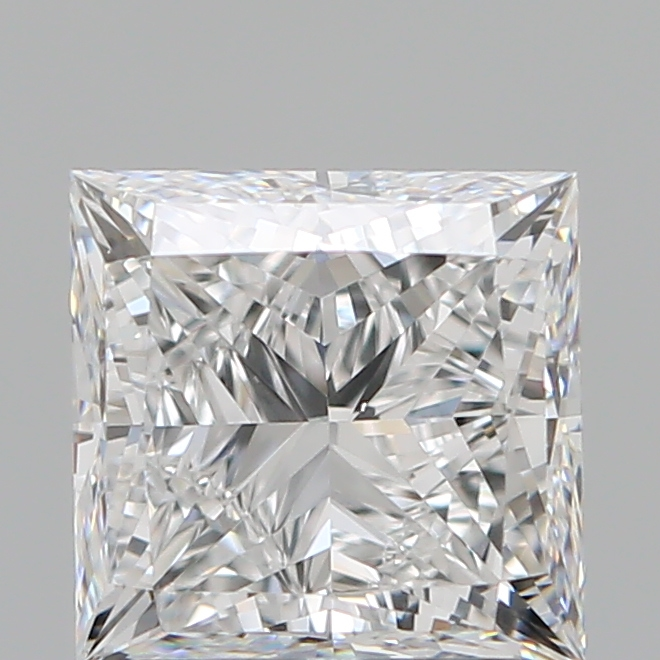 1.50 Carat Princess Loose Diamond, E, VS1, Super Ideal, GIA Certified