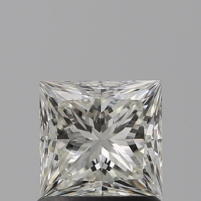 1.00 Carat Princess Loose Diamond, I, SI1, Super Ideal, GIA Certified