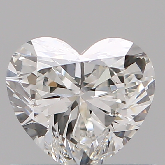 0.50 Carat Heart Loose Diamond, H, VS2, Ideal, GIA Certified