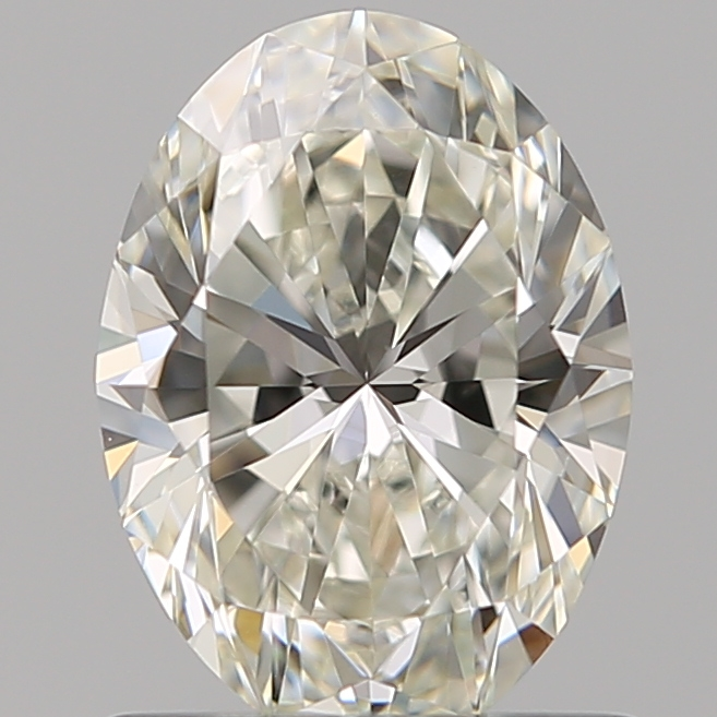 0.96 Carat Oval Loose Diamond, J, VS1, Super Ideal, GIA Certified