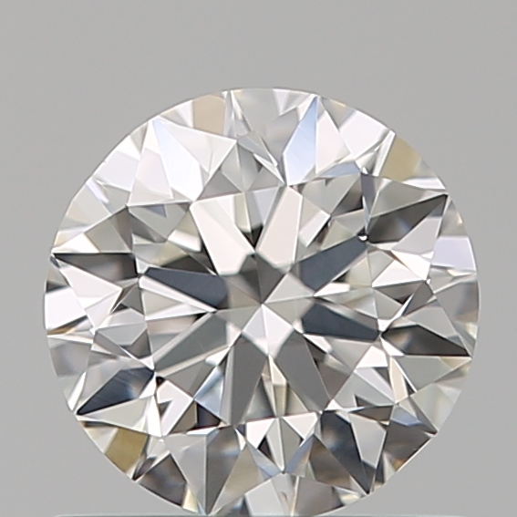 0.65 Carat Round Loose Diamond, F, VS2, Ideal, GIA Certified