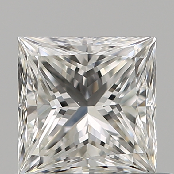 0.57 Carat Princess Loose Diamond, G, VS1, Super Ideal, GIA Certified | Thumbnail