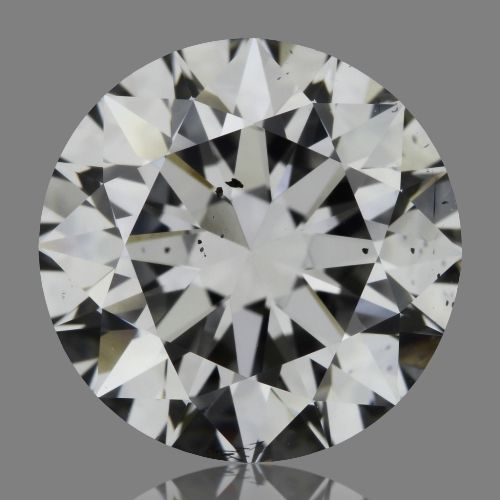 2.00 Carat Round Loose Diamond, D, SI1, Super Ideal, GIA Certified