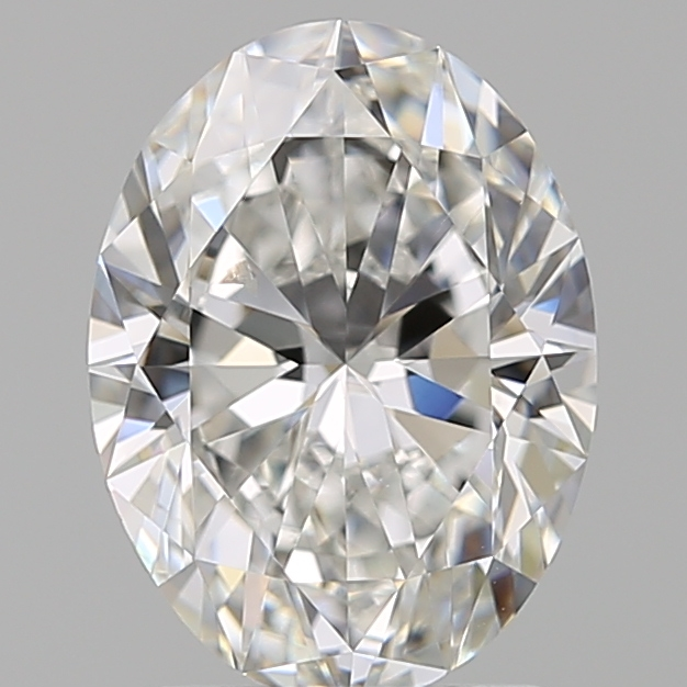 1.91 Carat Oval Loose Diamond, F, SI1, Super Ideal, GIA Certified | Thumbnail