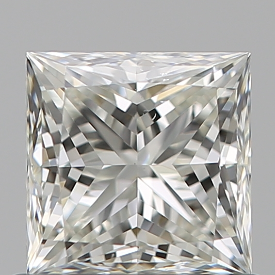 0.72 Carat Princess Loose Diamond, J, VS2, Super Ideal, GIA Certified