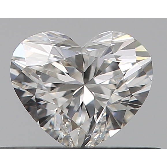 0.30 Carat Heart Loose Diamond, G, VS1, Ideal, GIA Certified
