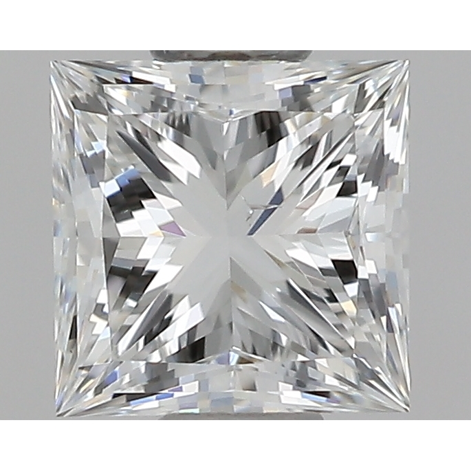 0.50 Carat Princess Loose Diamond, G, SI1, Super Ideal, GIA Certified