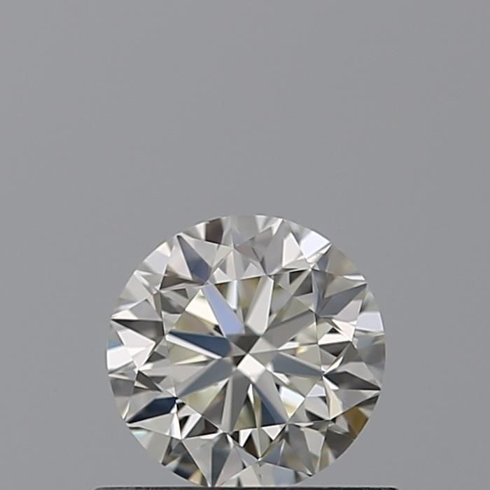 0.50 Carat Round Loose Diamond, K, VS1, Excellent, GIA Certified
