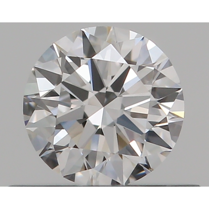 0.35 Carat Round Loose Diamond, E, VVS2, Super Ideal, GIA Certified