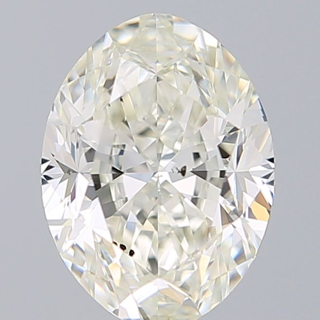 1.30 Carat Oval Loose Diamond, J, SI1, Excellent, GIA Certified