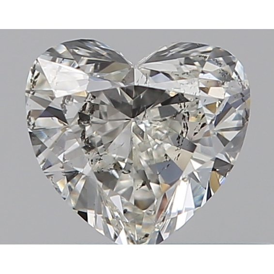 0.30 Carat Heart Loose Diamond, I, SI2, Excellent, GIA Certified