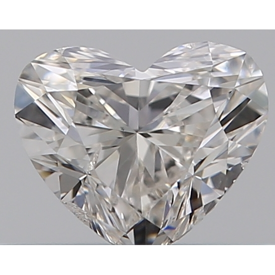 0.30 Carat Heart Loose Diamond, I, SI2, Ideal, GIA Certified