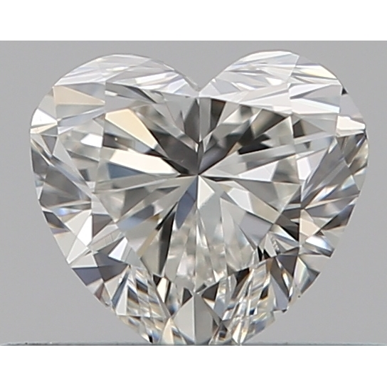 0.31 Carat Heart Loose Diamond, H, SI1, Super Ideal, GIA Certified | Thumbnail