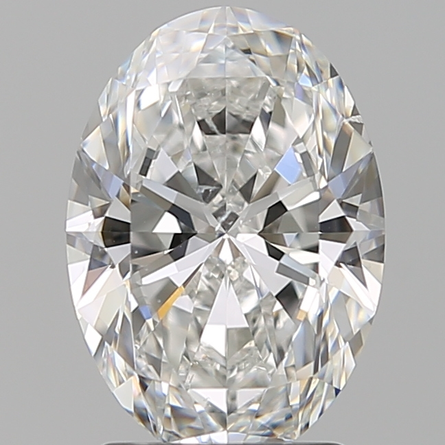 2.01 Carat Oval Loose Diamond, E, SI1, Super Ideal, GIA Certified