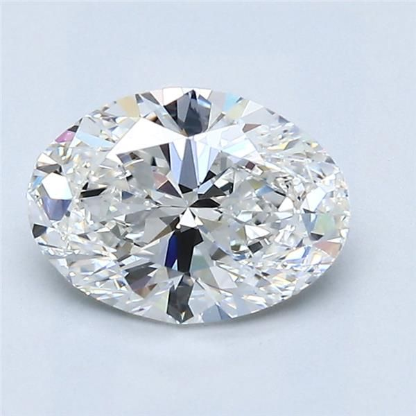 1.52 Carat Oval Loose Diamond, G, VS2, Super Ideal, GIA Certified