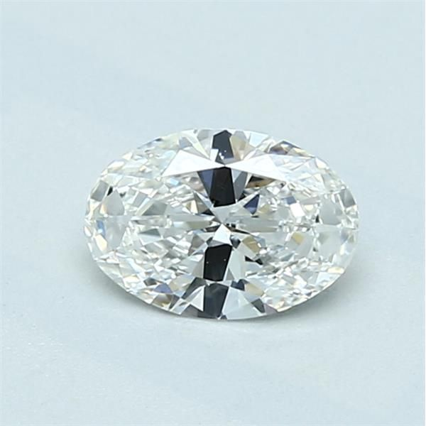 0.53 Carat Oval Loose Diamond, G, IF, Super Ideal, GIA Certified