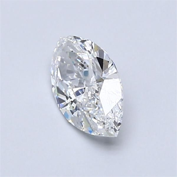 0.58 Carat Marquise Loose Diamond, D, IF, Ideal, GIA Certified