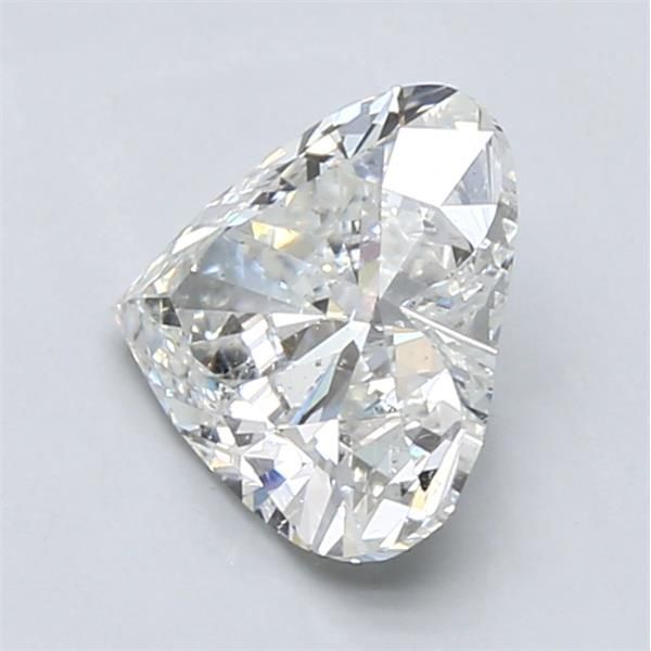 1.73 Carat Heart Loose Diamond, H, SI2, Super Ideal, GIA Certified | Thumbnail