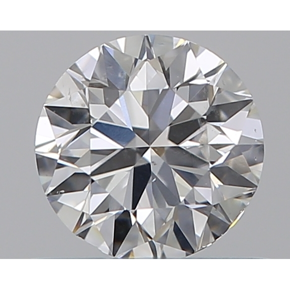 0.50 Carat Round Loose Diamond, E, VS2, Ideal, GIA Certified