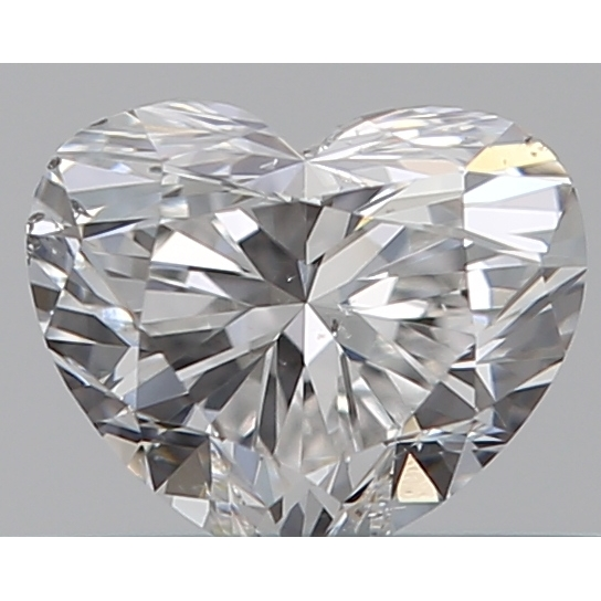 0.30 Carat Heart Loose Diamond, E, SI1, Super Ideal, GIA Certified