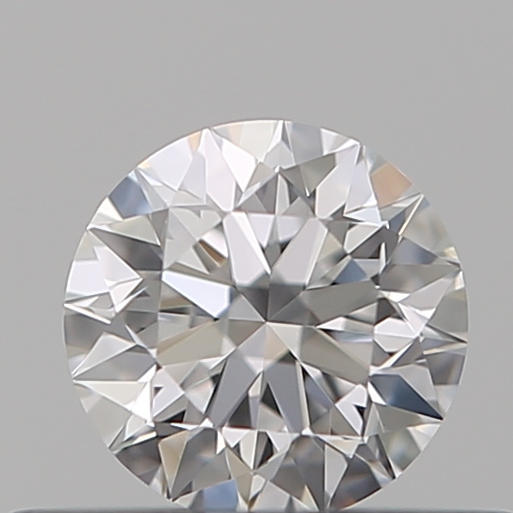 0.32 Carat Round Loose Diamond, D, VVS1, Super Ideal, GIA Certified
