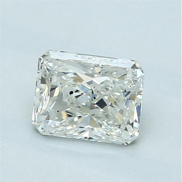 1.01 Carat Radiant Loose Diamond, I, SI1, Excellent, GIA Certified