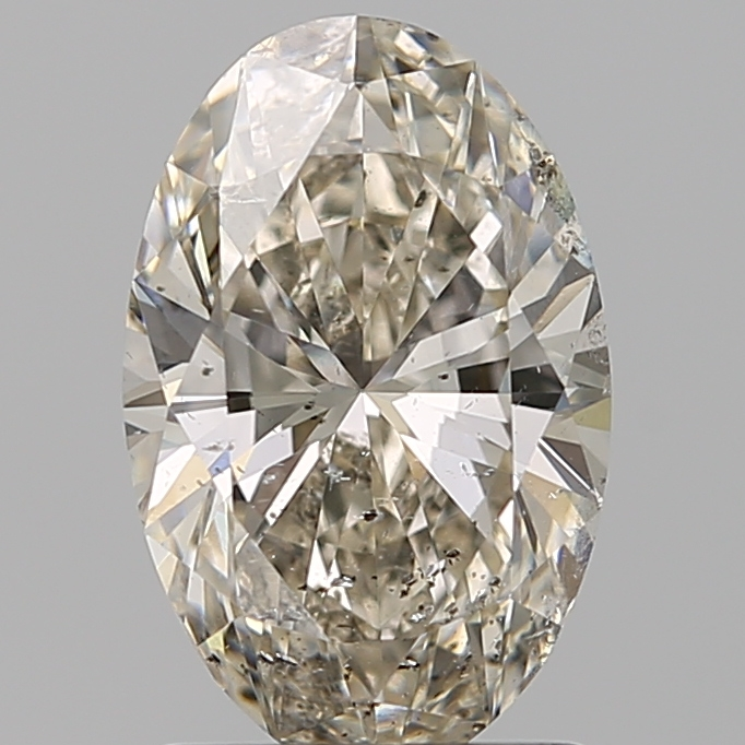 1.60 Carat Oval Loose Diamond, L, SI2, Super Ideal, GIA Certified