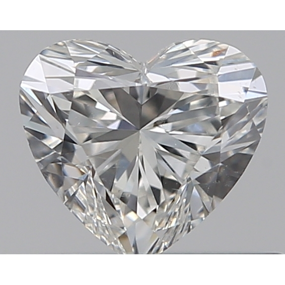 0.31 Carat Heart Loose Diamond, G, SI1, Super Ideal, GIA Certified