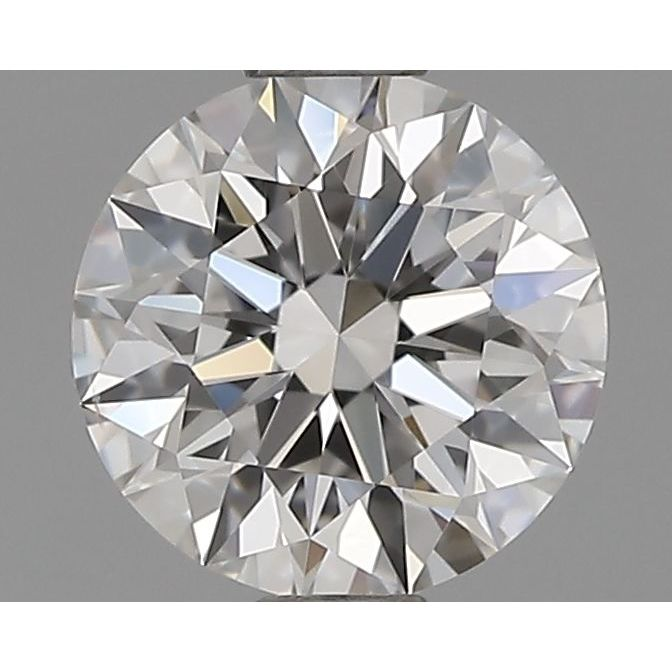 0.70 Carat Round Loose Diamond, E, VS2, Super Ideal, GIA Certified