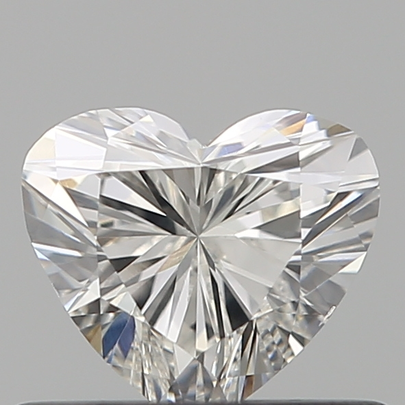 0.46 Carat Heart Loose Diamond, G, VS1, Ideal, GIA Certified