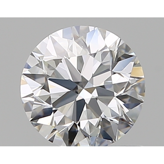 0.70 Carat Round Loose Diamond, D, IF, Super Ideal, GIA Certified