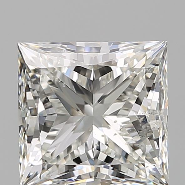 2.00 Carat Princess Loose Diamond, I, SI2, Super Ideal, GIA Certified