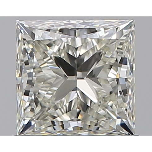 0.81 Carat Princess Loose Diamond, K, VVS1, Super Ideal, GIA Certified