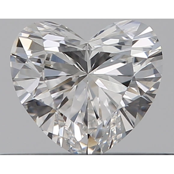 0.30 Carat Heart Loose Diamond, F, SI1, Ideal, GIA Certified
