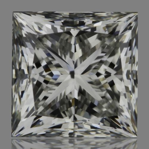 0.70 Carat Princess Loose Diamond, H, VS1, Super Ideal, GIA Certified