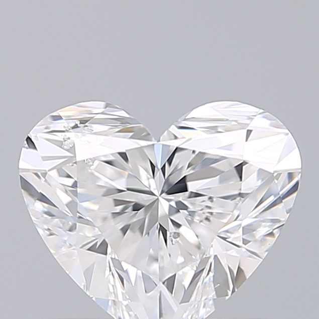 0.90 Carat Heart Loose Diamond, D, SI2, Super Ideal, GIA Certified | Thumbnail