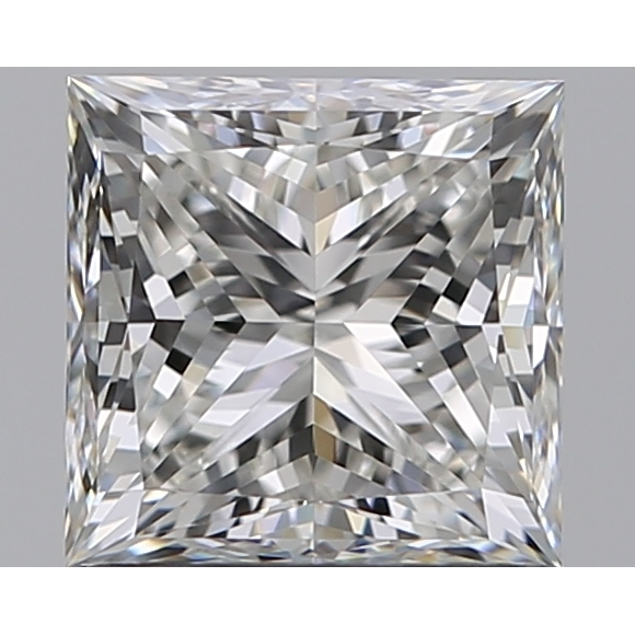 1.01 Carat Princess Loose Diamond, H, VVS1, Super Ideal, GIA Certified