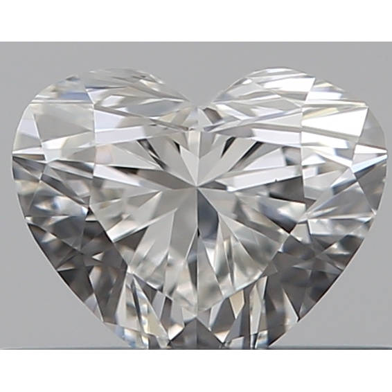 0.31 Carat Heart Loose Diamond, F, VS1, Super Ideal, GIA Certified