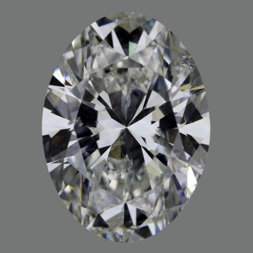 3.51 Carat Oval Loose Diamond, G, SI2, Super Ideal, GIA Certified
