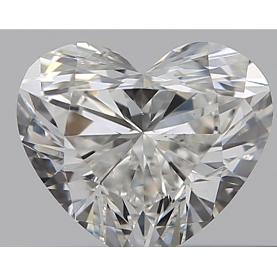 0.30 Carat Heart Loose Diamond, G, VS2, Ideal, GIA Certified