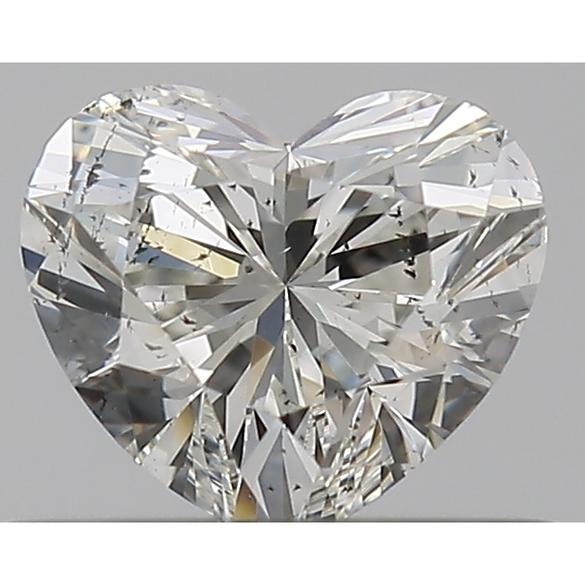 0.37 Carat Heart Loose Diamond, I, SI2, Super Ideal, GIA Certified