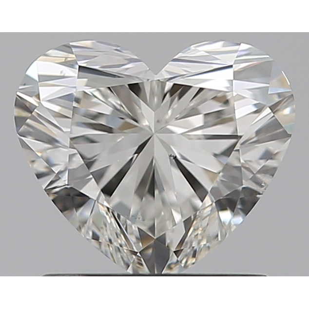 0.91 Carat Heart Loose Diamond, H, SI1, Super Ideal, GIA Certified