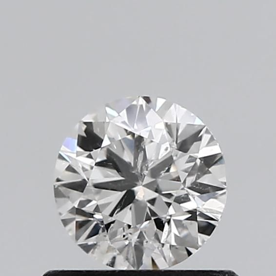 0.50 Carat Round Loose Diamond, F, I1, Excellent, GIA Certified