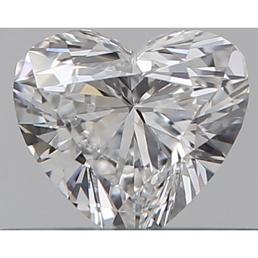 0.30 Carat Heart Loose Diamond, E, VS1, Excellent, GIA Certified