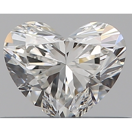 0.31 Carat Heart Loose Diamond, G, VS1, Ideal, GIA Certified