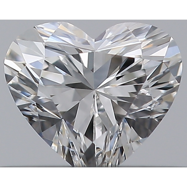 0.30 Carat Heart Loose Diamond, E, VVS2, Ideal, GIA Certified