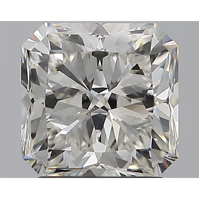 1.82 Carat Radiant Loose Diamond, G, VS2, Super Ideal, GIA Certified