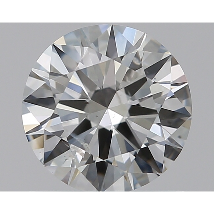 0.70 Carat Round Loose Diamond, F, SI2, Ideal, GIA Certified